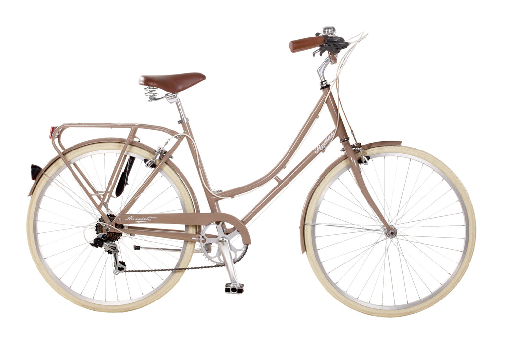 "B Grade Ryedale Harriet 17"" Ladies 6 Speed Traditional Bike 26"" Wheel Latte"