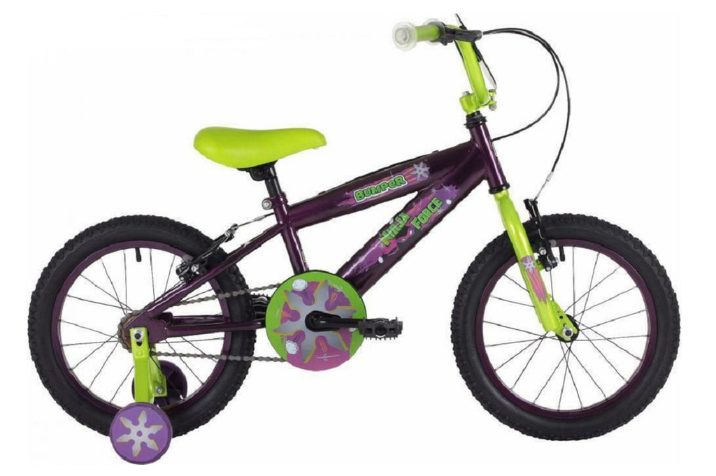 "Bumper Ninja Boys 18"" Mountain Bike 6 to 8 years"