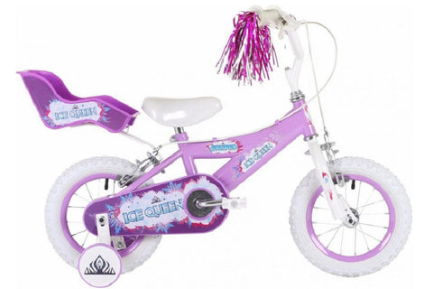 "Bumper Ice Queen 12"" Girls Mountain Bike 3 to 5 years"