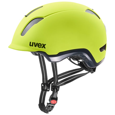 Uvex City 9 Helmet Neon Yellow