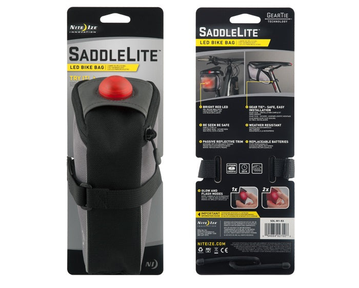 Nite-Ize Saddlelite LED Bike Bag