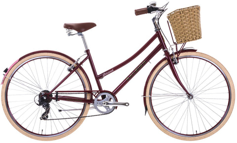 2017 Raleigh Sherwood Ladies Classic Lifestyle Traditional Bike Cherry