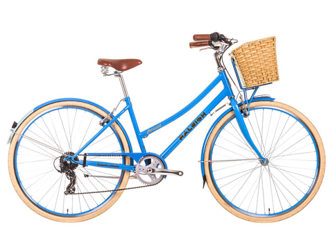 "B Grade 2017 Raleigh Sherwood 19"" Ladies Classic Lifestyle Traditional Bike Blue"
