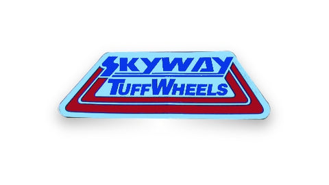 Skyway Tuffwheels Decal Sticker Vintage BMX