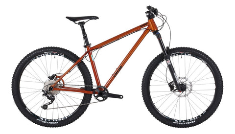 Ex Demo Onza Jackpot 650b Wheel Orange Mountain Bike 19""