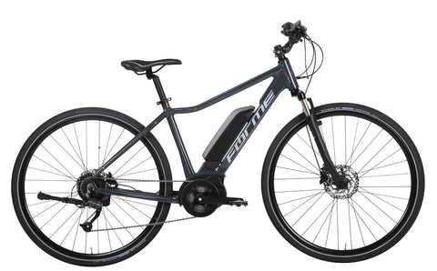 B Grade Forme Peak Trail 2E 700c Wheel Electric Bike Grey 18""