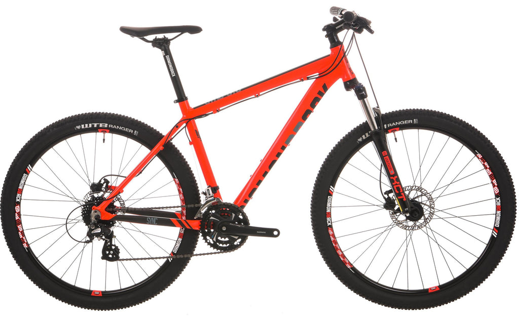 "2018 Diamondback Sync 3.0 Hard Tail 27.5"" Wheel Mountain Bike Red"