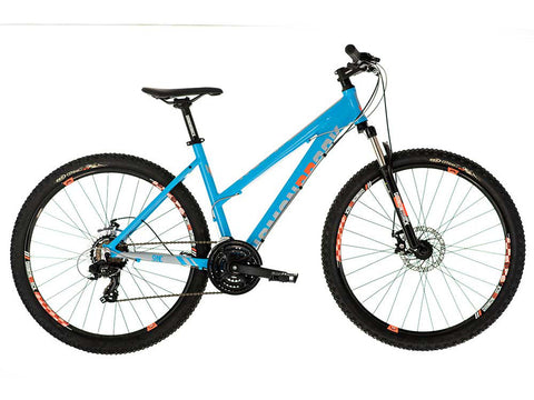 "2018 Diamondback Sync 1.0 Women's Hard Tail 27.5"" Wheel Mountain Bike Blue"