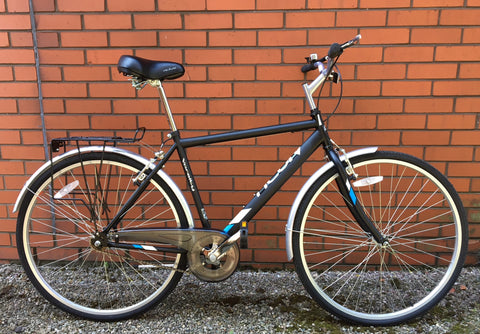 B Grade Raleigh Activ Varsity Mens Single Speed Hybrid Bike 20""