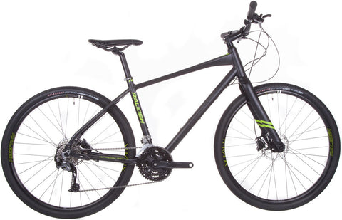 Raleigh Strada 4 Gents 27 Speed 650b Hybrid Bike Black