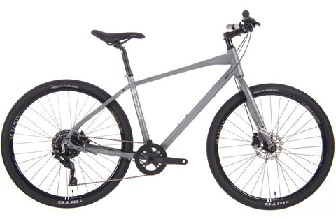 Raleigh Strada 5 Gents 10 Speed 650b Hybrid Bike Grey
