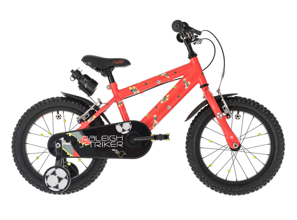 "Raleigh Striker 16"" Boys Bike Orange"