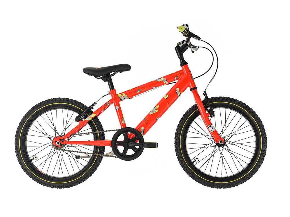 "Raleigh Striker 18"" Boys Mountain Bike Orange"