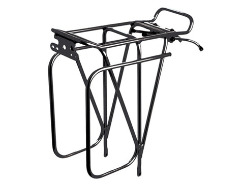 Tortec Rear Expedition Rack Black