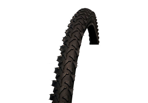 "Coyote 26"" X 1.95"" Black Semi Slick Mountain Bike Tyre"
