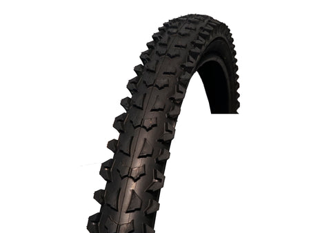 "Coyote 26"" X 1.95"" Black Mountain Bike Tyre"