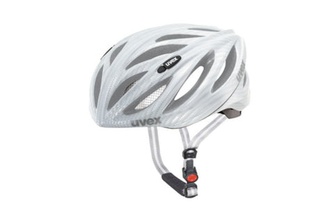 UVEX Boss Race Carbon White Helmet