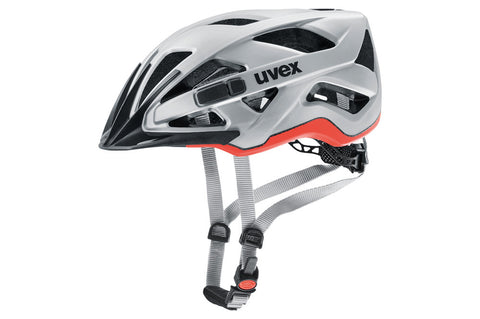 Uvex Active Cc Helmet Grey-Orange 56-60cm