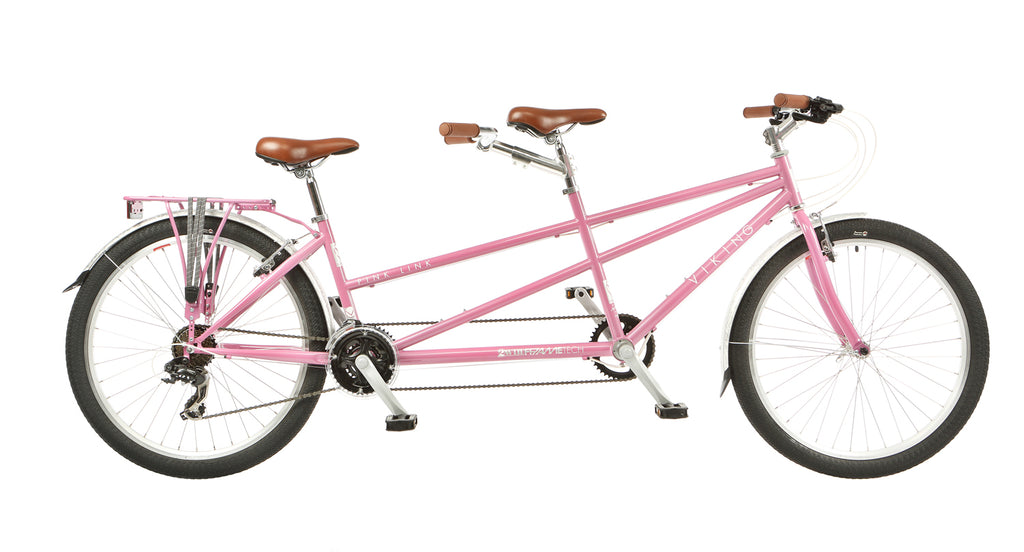 "Viking Pink Link 17""/15"" Mountain Bike Ladies Tandem 21 Speed"