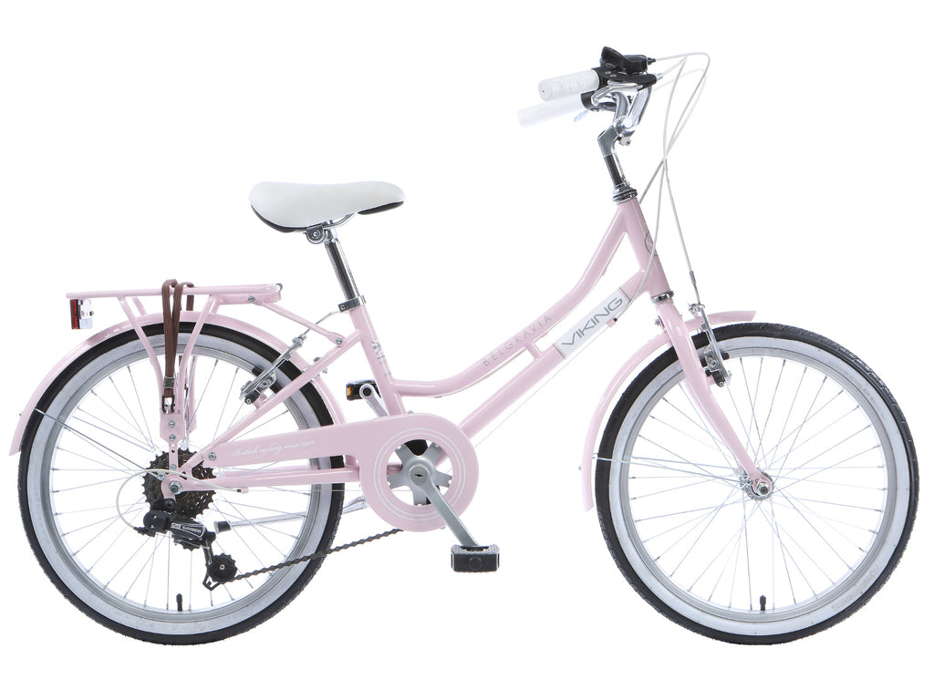 "B Grade 2017 Viking Belgravia Girls Traditional Dutch Bike 20"" Wheel Pink"