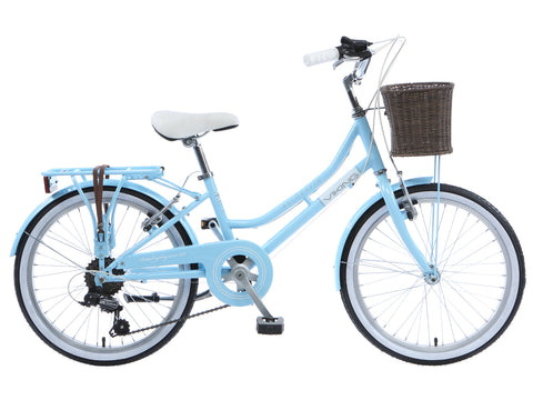 "2017 Viking Belgravia Girls Traditional Dutch Bike 20"" Wheel Blue"