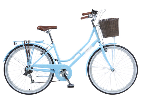 2017 Viking Belgravia Ladies Traditional 6 Speed Bike Blue