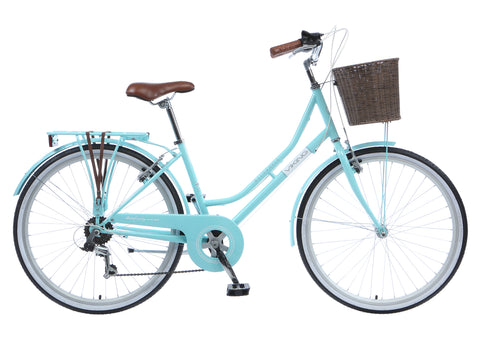 "2017 Viking Belgravia 18"" Ladies Traditional 6 Speed Bike Turquoise"