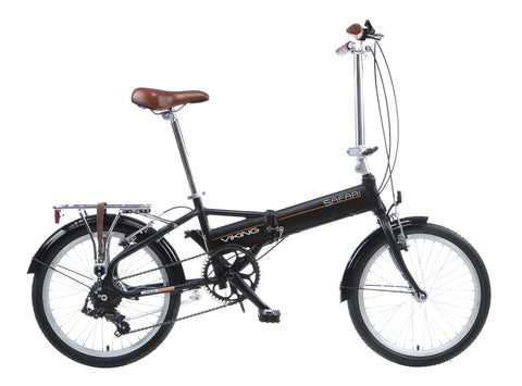 2017 Viking Safari Folding Bike 7 Speed Unisex Aluminium