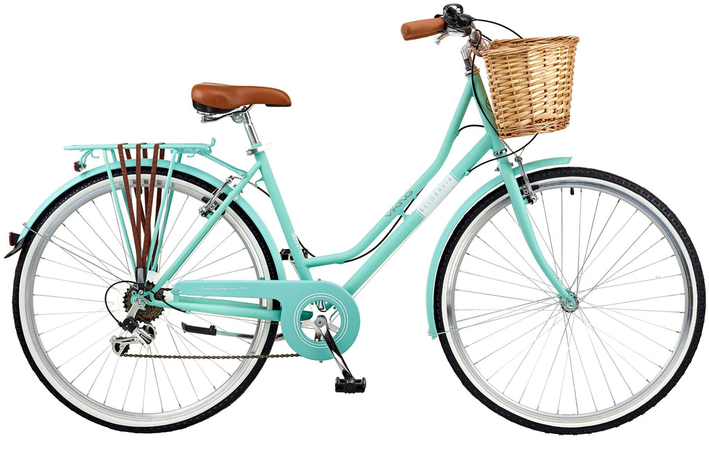 2018 Viking Belgravia Ladies Traditional Heritage 700C Wheel 6 Speed Bike Turquoise
