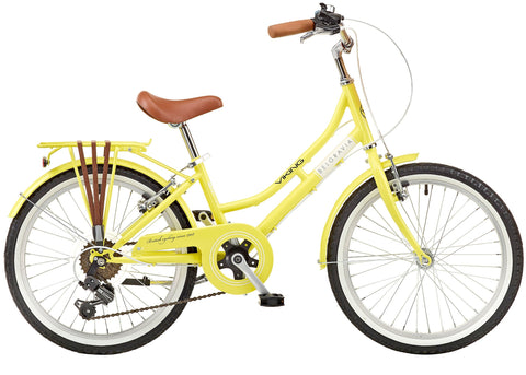 "B Grade Viking Belgravia Girls Traditional Heritage 20"" Wheel 6 Speed Bike Lemon"