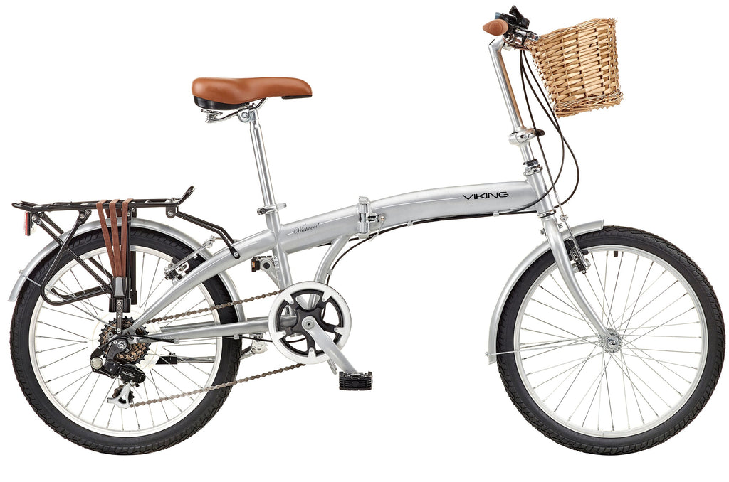 "2018 Viking Westwood 20"" Wheel 6 Speed Folding Bike"
