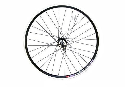 "26"" Mountain Bike Wheel Disc Front QR Black"