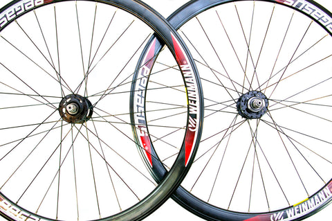700c Pegasus Single Speed Fixie Flip Flop Wheels Black