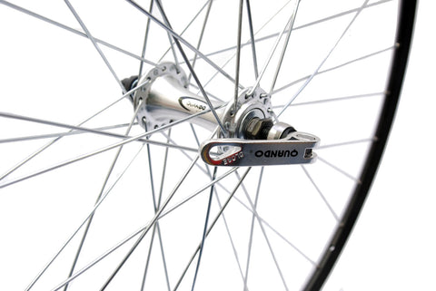 700c X 19mm Black Weinmann Front Race Wheel with QR hub