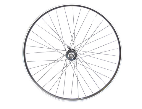 700c Hybrid Disc Rear QR Wheel for Screw on Freewheels