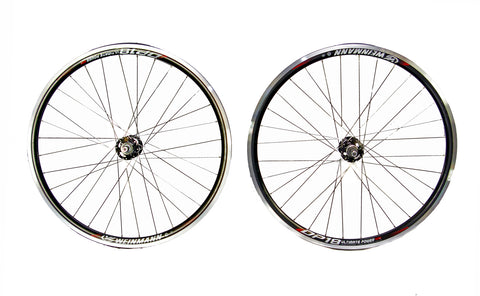 700c Flip Flop Single Speed Fixie Fixed Wheelset Black