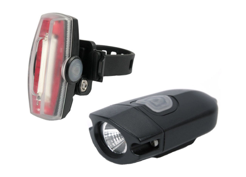Xeccon Link 300 Front & Mars 30 Rear Bicycle Lightset