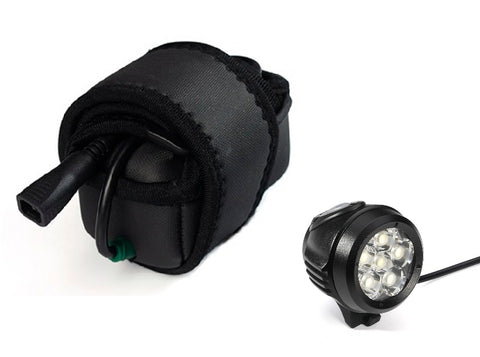 Xeccon Zeta 5000R Front Bike Light 5000 Lumens Wireless Remote