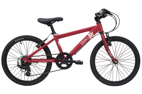 "Raleigh Zero Boys 20"" Wheel Aluminium Bike Red"
