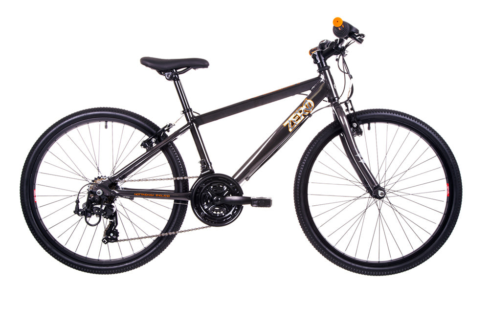 "B Grade Raleigh Zero 24 Boys 24"" Wheel Black Bike"