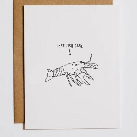 That Fish Cray Card