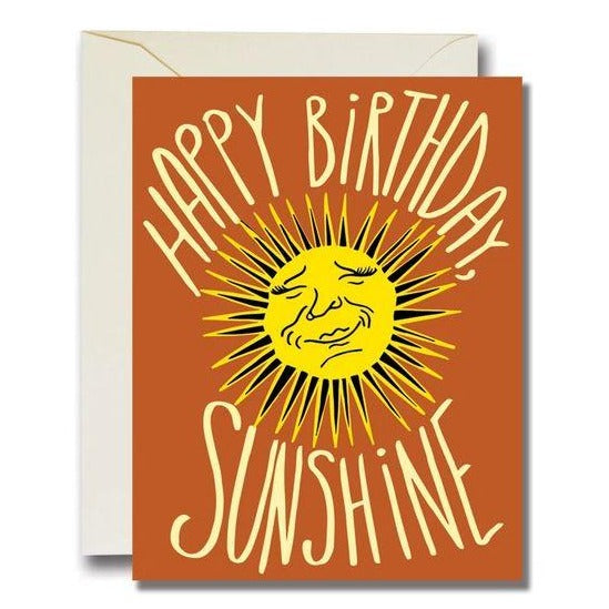 HBD Sunshine Card