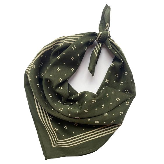 Sunday/Monday | Constellation Bandana- Olive