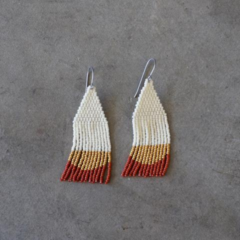 Woven Wyld | Beaded Earrings