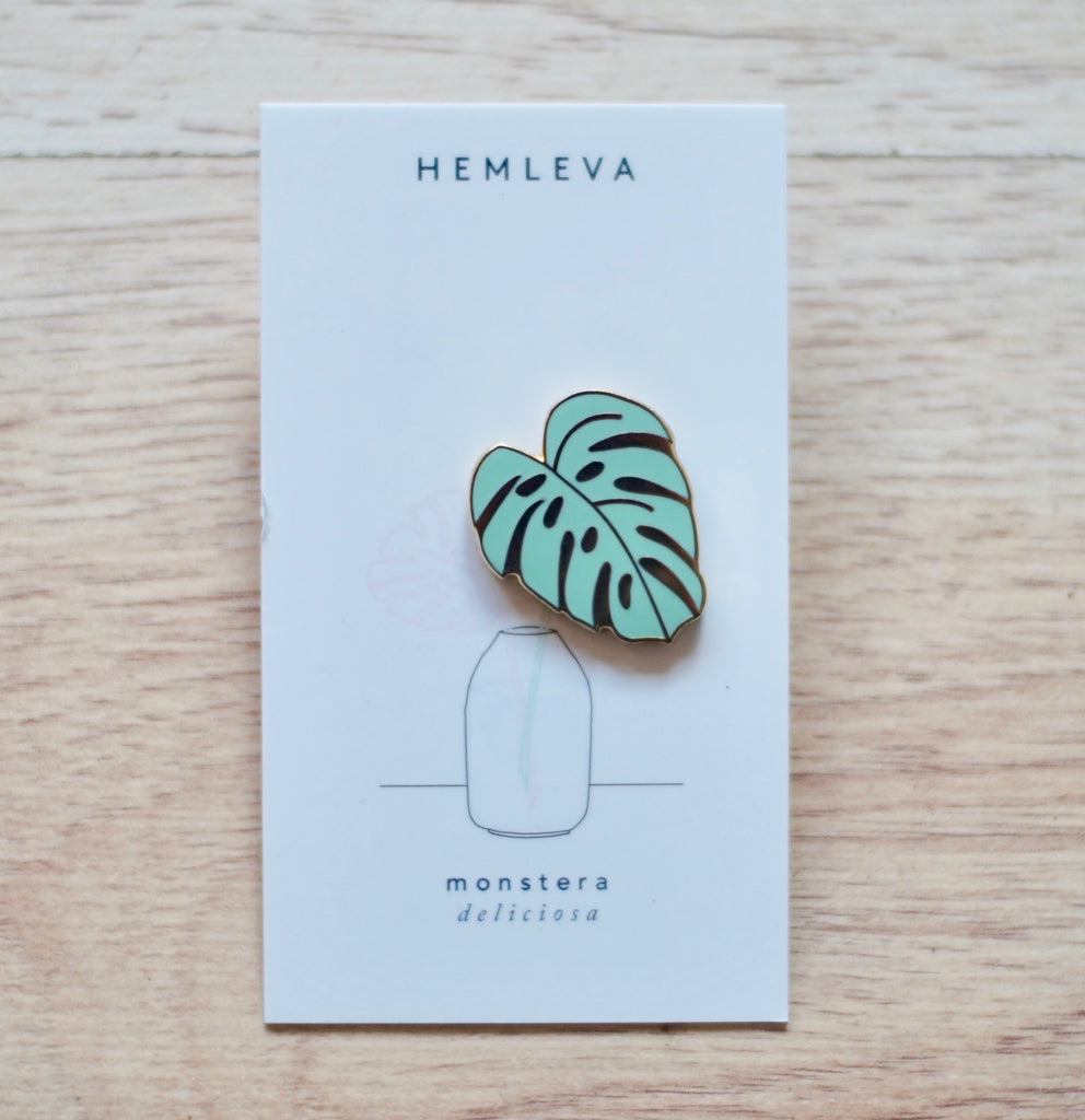 Hemleva | Monstera Pin