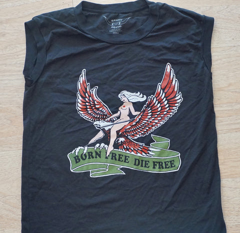 Bandit Brand | Born Free Muscle Tee