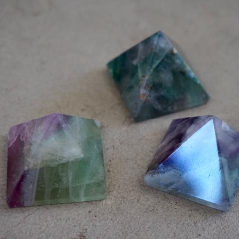 Chaparral Studio | Fluorite Mini Pyramid