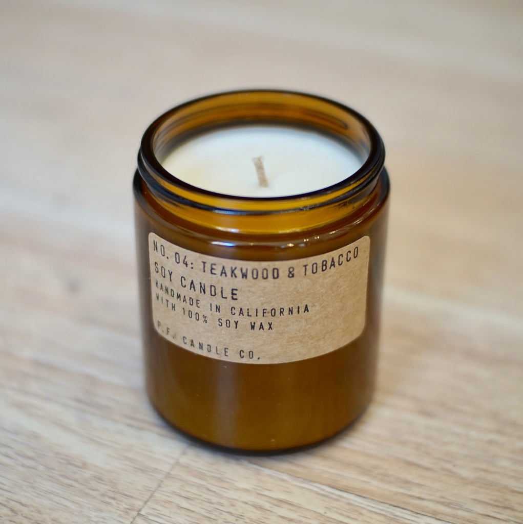 P.F. Candle | Teakwood & Tobacco