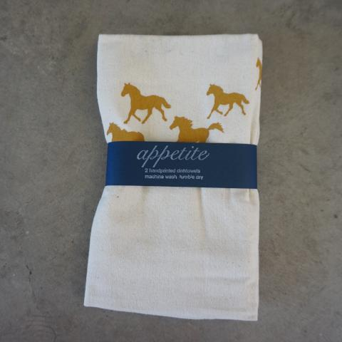 Appetite Shop | Horsey Dishtowel Set