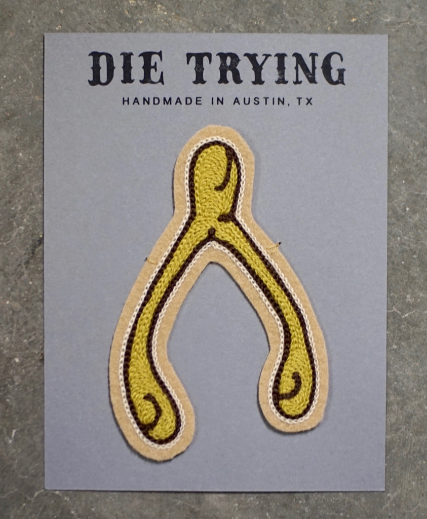 Die Trying | Wishbone Patch